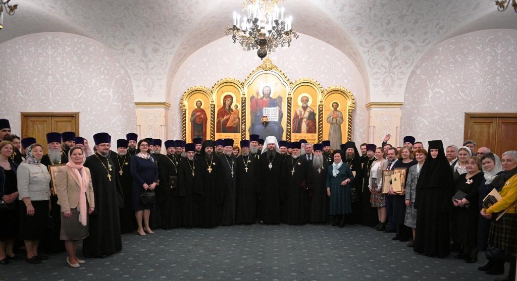 Фотографии пресс-службы Московской Патриархии